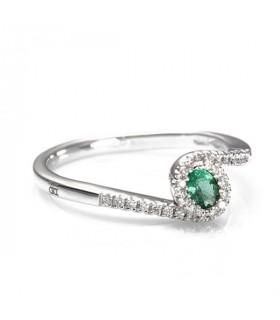 Anello con Smeraldo Verde AA030954 SM